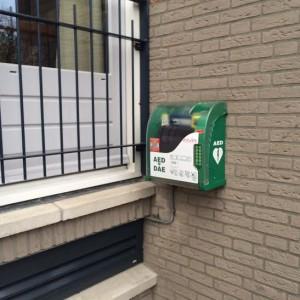 AED beschikbaar voor de hele VvE en omgeving.